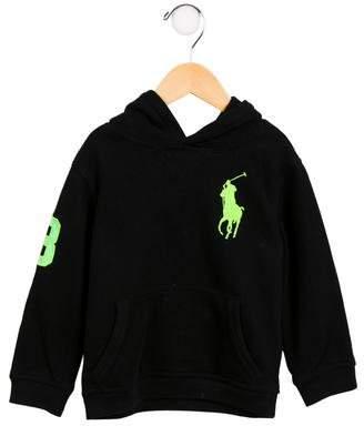 Polo Ralph Lauren Boys' Hooded Appliqué Sweatshirt
