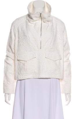 A.L.C. Lace Zip-Up Jacket