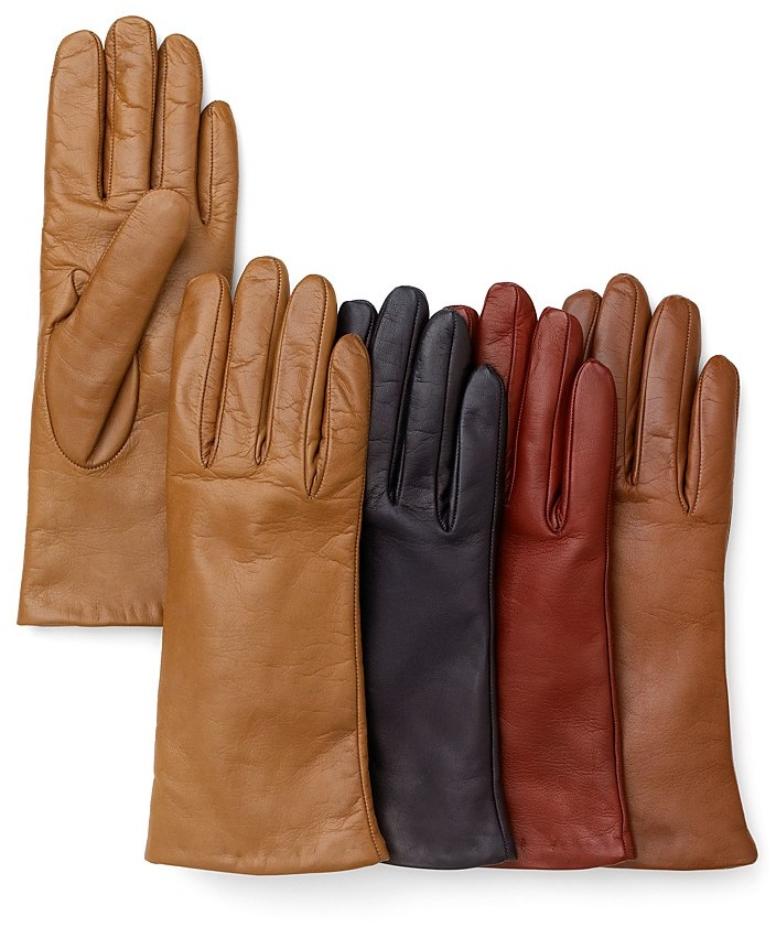 Bloomingdale's Cashmere Lined Short Gloves