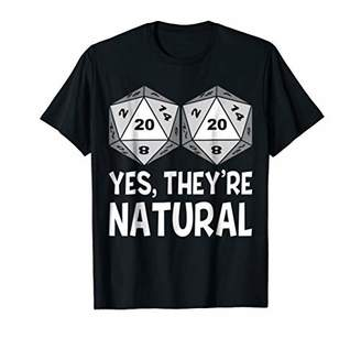 Yes They're Natural TShirt Humor Roleplay