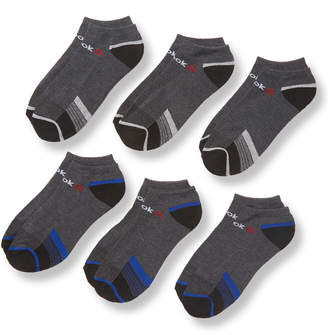 Reebok Knit Stripe Low Cut Socks (6 Pack)
