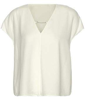 Alexander Wang Chain-Detailed Crepe De Chine Top