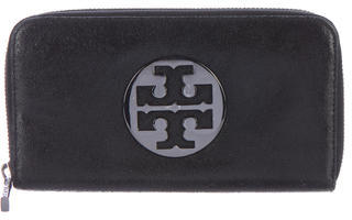 Tory Burch Tory Burch Leather Zip Wallet
