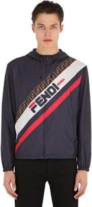 Fendi Mania Hooded Jacket