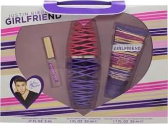 Justin Bieber Girlfriend Gift Set 30mL Edp + 50mL Body Lotion + 5mL Edp Rollerball For Women