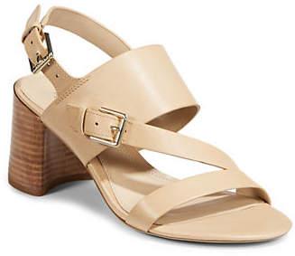 Lauren Ralph Lauren Florin Vachetta Leather Sandals