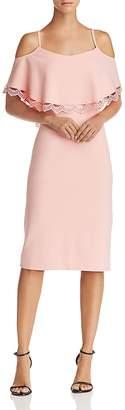 Nanette Lepore nanette Cold-Shoulder Sheath Dress