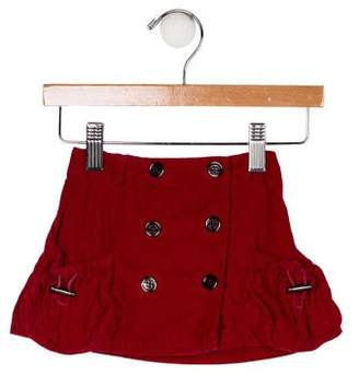 Burberry Girls' Corduroy Skirt