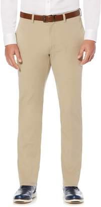 Savane Men's Complete Comfort Modern-Fit Flat-Front Khaki Pants