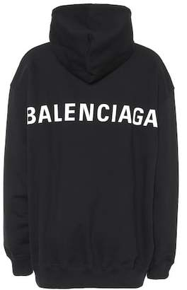 Balenciaga Printed cotton sweatshirt