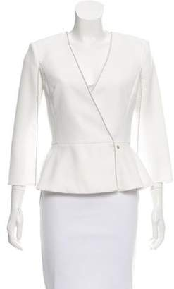 Elisabetta Franchi Structured Crepe Top w/ Tags
