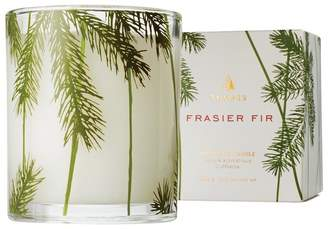 Thymes Frasier Fir Poured Candle with Pine Needle Motif