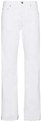 Faith Connexion Mid rise jeans with zip detail at hem