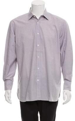 Ralph Lauren Purple Label Woven Button-Up Shirt