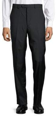 Lauren Ralph Lauren Wool Flat-Front Pants