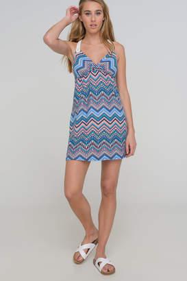 Ardene Crochet Racerback Mini Dress