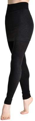 Angelina Cotton Blend Mini Skirt Leggings _GRY_OS