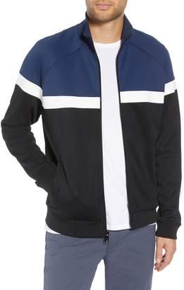 Vince Classic Fit Colorblock Track Jacket