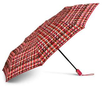 Vera Bradley Houndstooth Tweed Umbrella