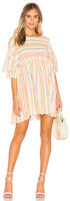 Free People Summer Nights Striped Dress