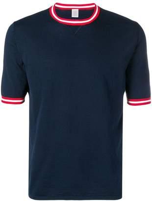 Eleventy contrast trim T-shirt