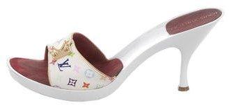 Louis Vuitton Logo Slide Sandals
