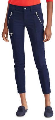 Lauren Ralph Lauren Twill Mid-Rise Skinny Cargo Pants