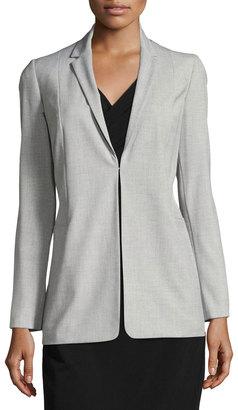 T Tahari Long Blazer Jacket $115 thestylecure.com