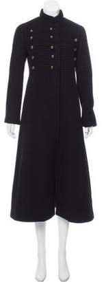 Marc Jacobs Cashmere Military Coat