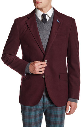 TailorByrd Solid Notch Collar Sportcoat $325 thestylecure.com