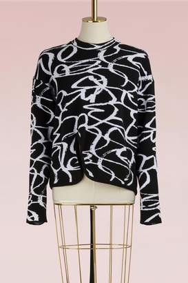 Proenza Schouler Asymmetrical wool sweater