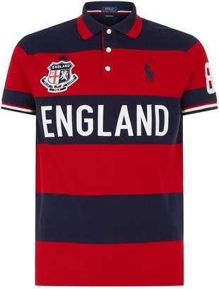 Polo Ralph Lauren Striped England Polo Shirt