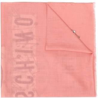 Moschino safety pins scarf