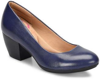 COMFORTIVA Comfortiva Womens Amora Pumps Closed Toe Stacked Heel