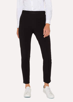 Paul Smith Women's Black Stretch-Cotton Skinny-Fit Pants