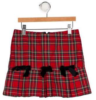 Florence Eiseman Plaid Pleated Skirt