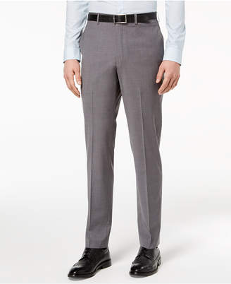 DKNY Closeout! Men's Slim-Fit Stretch Neat Suit Pants