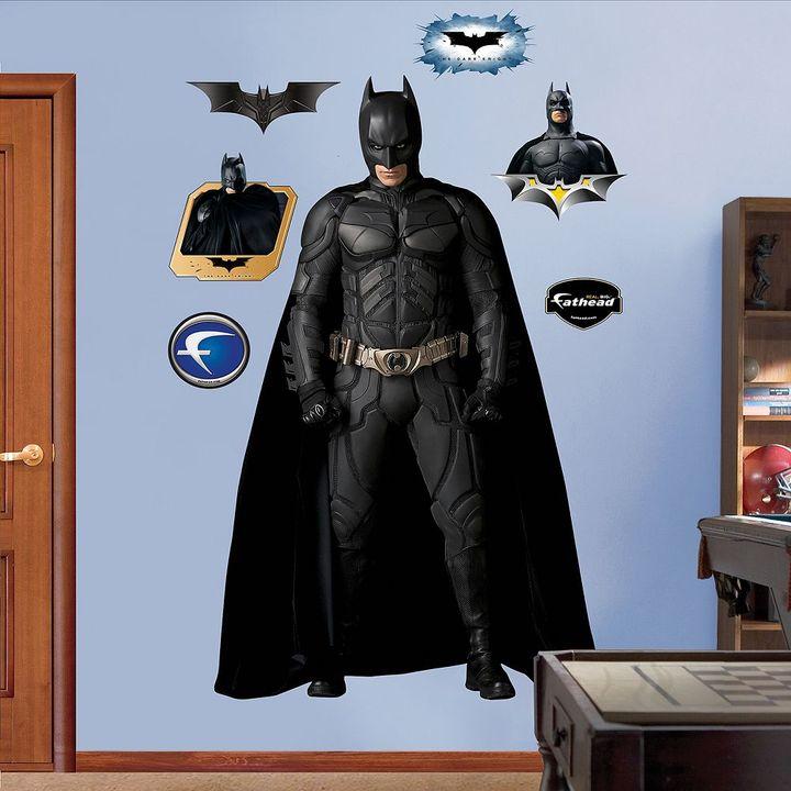 Fathead Batman movie character wall decals