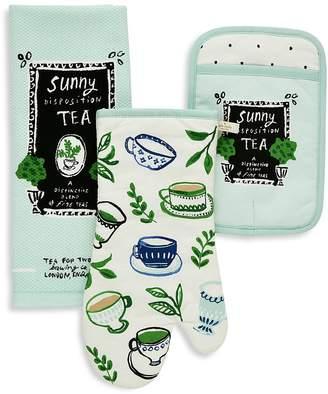 Kate Spade Sunny Disposition Tea Print 3-Piece Linen Set