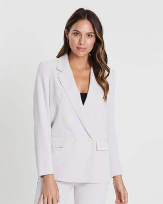 Mng Double-Breasted Blazer