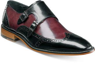 Stacy Adams Men's Brewster Double Monk Slip-On Loafers Men's Shoes