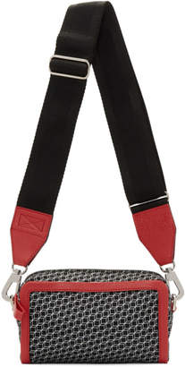 Pierre Hardy Red and Black Cube Box Bag