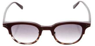 Celine Tortoiseshell Wayfarer Sunglasses