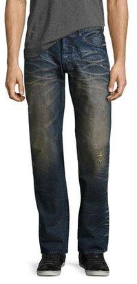 PRPS Porous Barracuda Straight-Leg Jeans, Indigo $198 thestylecure.com