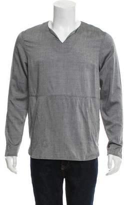 Matiere Action Silk-Blend Shirt