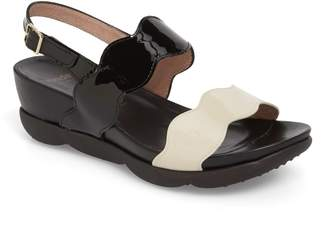 Wonders Wedge Sandal