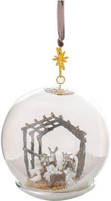 Michael Aram Manger Snow Globe Ornament