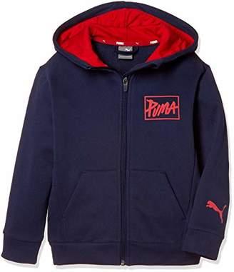 Puma (プーマ) - [プーマ] トレーニングウェア Style フーデッドッスウェットジャケット 853694 [ボーイズ] ピーコート (06) 日本 130 (日本サイズ130 相当)