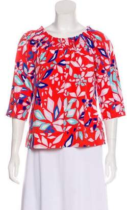 Diane von Furstenberg Jennette Off-The-Shoulder Top Red Jennette Off-The-Shoulder Top