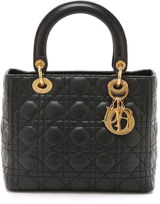 Christian Dior What Goes Around Comes Around Small Lady Bag (Previously Owned)